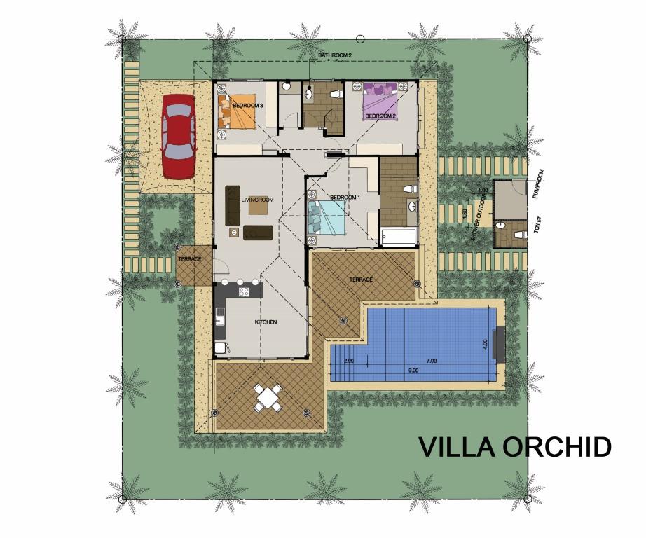 Grundriss Der Villa Hier Klicken