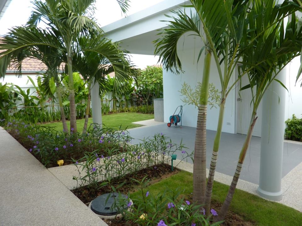 Orchid palm homes hua hin villa for rent for Outdoor furniture hua hin